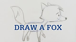Learn to Draw a Simple Fox