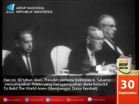 Pidato Presiden Sukarno Di Depan Sidang Majelis Umum PBB Tahun 1960