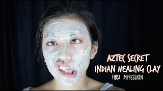 Aztec Secret Indian Healing Clay Mask - First Impression
