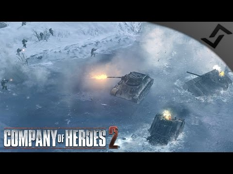 Sinking Tanks with a Smile - Company of Heroes 2 - Theatre of War: Barbarossa COOP 2