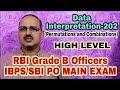 Data Interpretation-202 RBI Grade B Officer/IBPS/SBI PO MAIN (HIGH LEVEL)  #Amar Sir