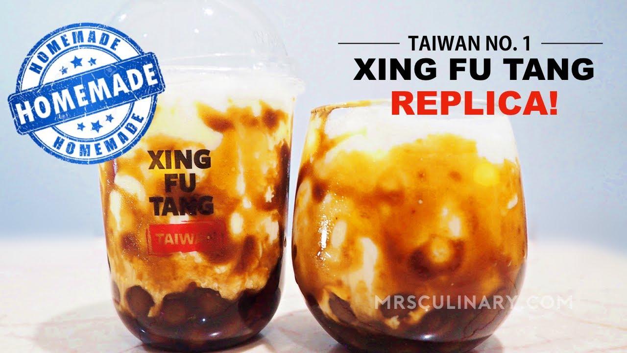Resep Brown Sugar Boba Ala Xing Fu Tang Homemade Bubble Tea Kenyal Youtube