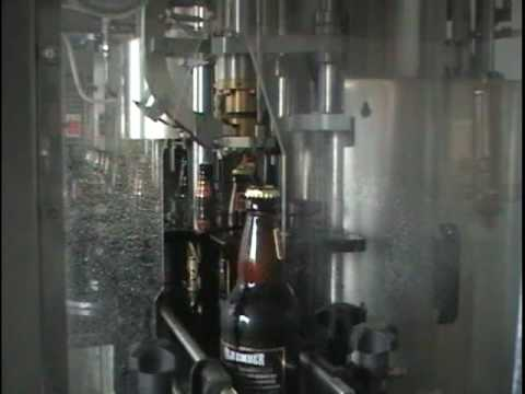 Small beer bottling line