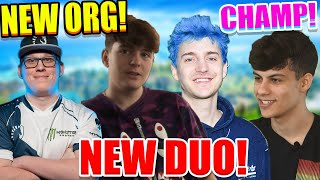 Chap & Vivid Join NEW Org! Clix & Ninja TEAM! 150K Arena Points! Ron Wins Free Chipotle for a YEAR!
