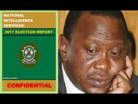 Secret NIS Report About Jubilee Election Loss Increasing Uhuru Kenyatta's Temper