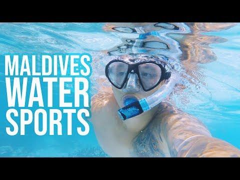 MALDIVES WATER SPORTS!