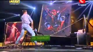 Украина мае талант 5 - Геннадий Цветков. 4 Прямой эфир. 11.05.13