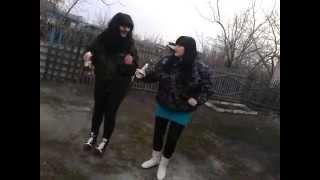 Девки танцуют под Казахстанский хит в Северо-Казахстанской области