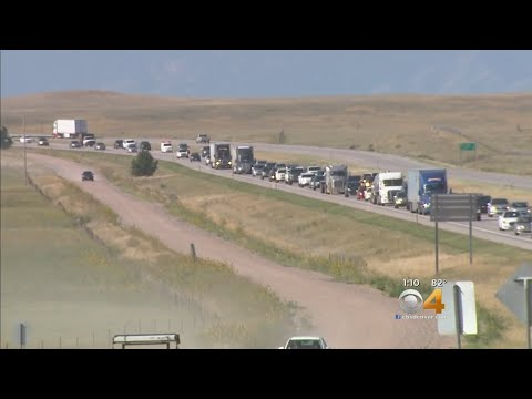 All Eyes On The Wyoming-Colorado Border As The Eclipse Ends