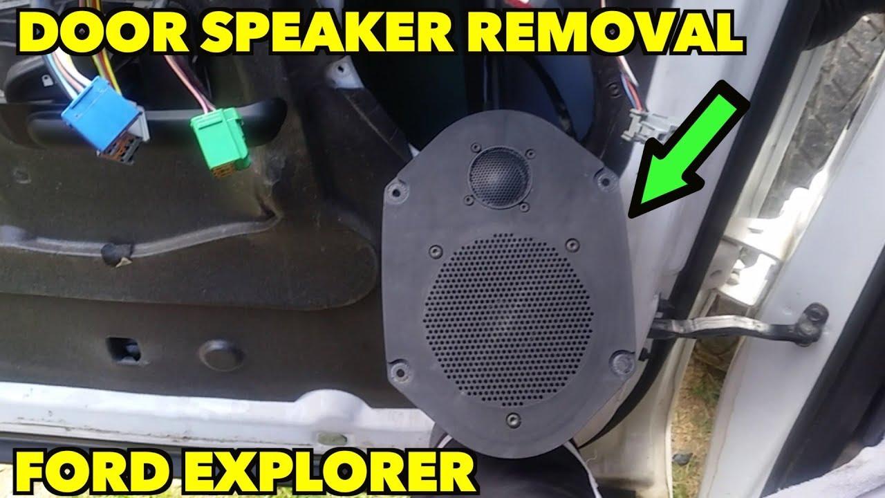 Ford Explorer Speaker Removal Door Panel Removal 2002 2005 Youtube