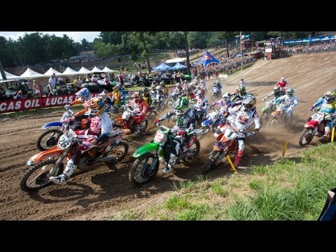 2013 Southwick Chaplin Kawasaki Moto-X 338 National Highlights