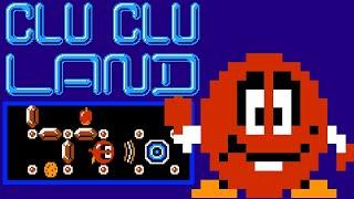Clu Clu Land (FC/NES)