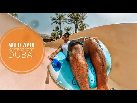 WATER SLIDING AT WILD WADI WATERSPORT DUBAI