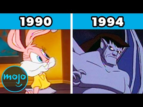 Top 10 Best 90s Cartoons of Each Year (1990 - 1999)