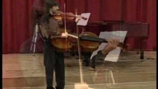 Bach-E-Major partita-Preludium - Flavius Danica