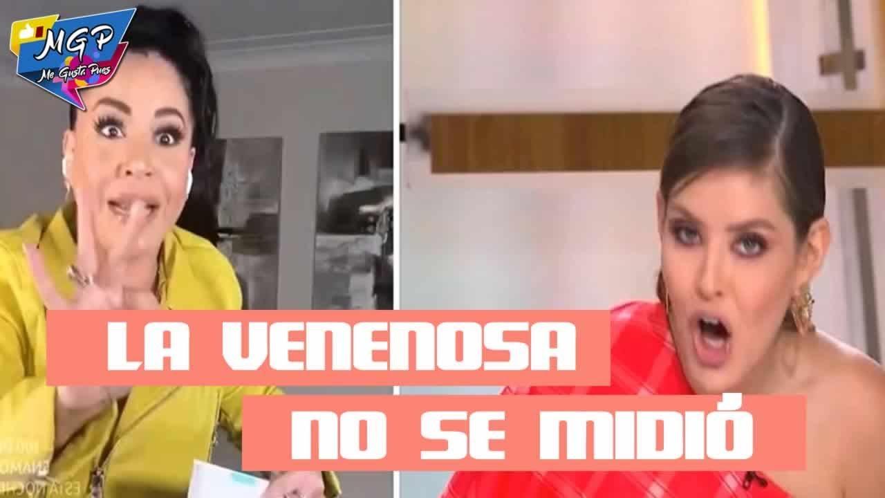 Carolina Sandoval Le Falta Al Respeto A Vanessa Claudio En Pleno Programa Youtube