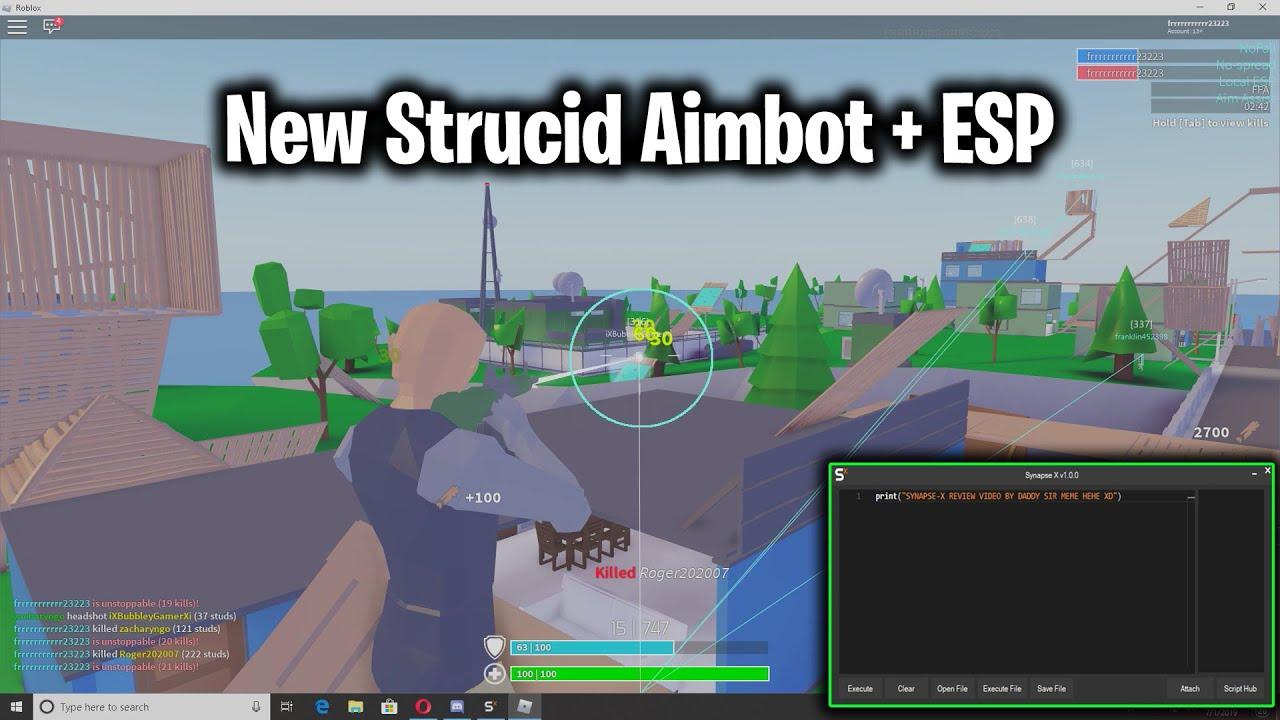 Roblox Strucid Aimbot Hack New Strucid Hack Script Aimbot Esp More Youtube