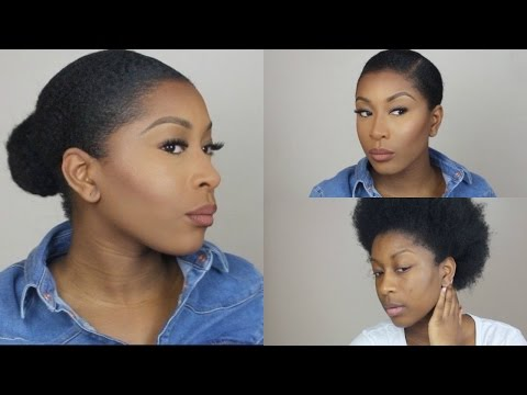 Faux Bun On Short Natural Hair Learn How To Look Fabulous With Your Short Natural Hair Wedding Digest Naija Blog