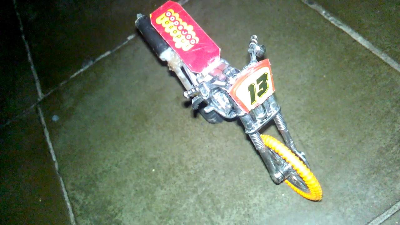 Modifikasi Motor Drag Mainan Nelpon S