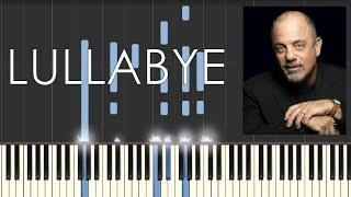 Billy Joel - Lullabye (Goodnight, My Angel) -  Piano Tutorial - How to play Lullabye (Synthesia)