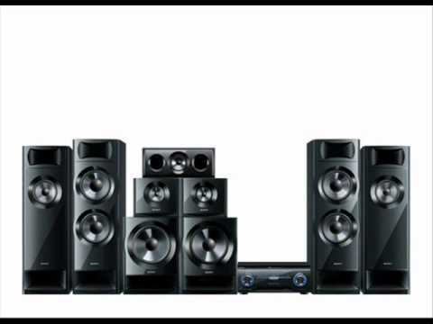 sony htm 7 7 2 surround sound system youtube. Black Bedroom Furniture Sets. Home Design Ideas