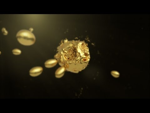 Golden Liquid Logo Reveal — After Effects project | Videohive template