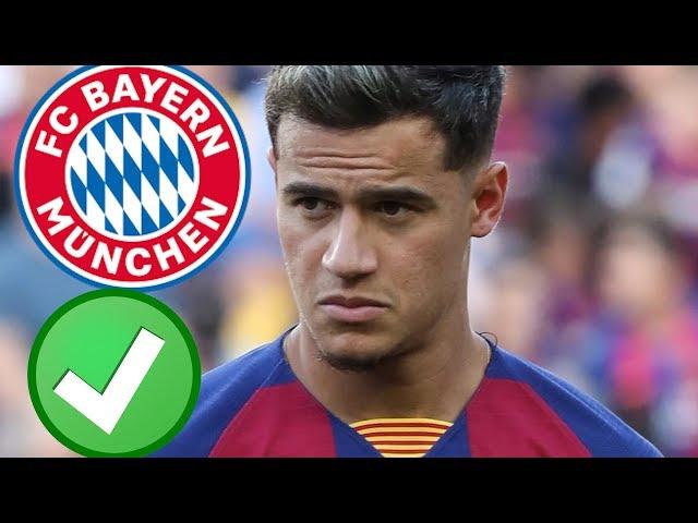 Breaking: Coutinho zu Bayern FIX !