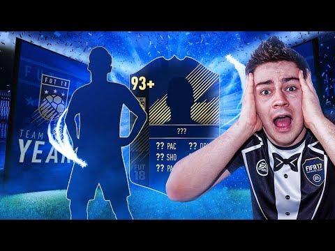 TRAFIŁEM TOTY!!! CO ZA PACZKI! MÓJ NAJLEPSZY PACK OPENING W FIFA 18!