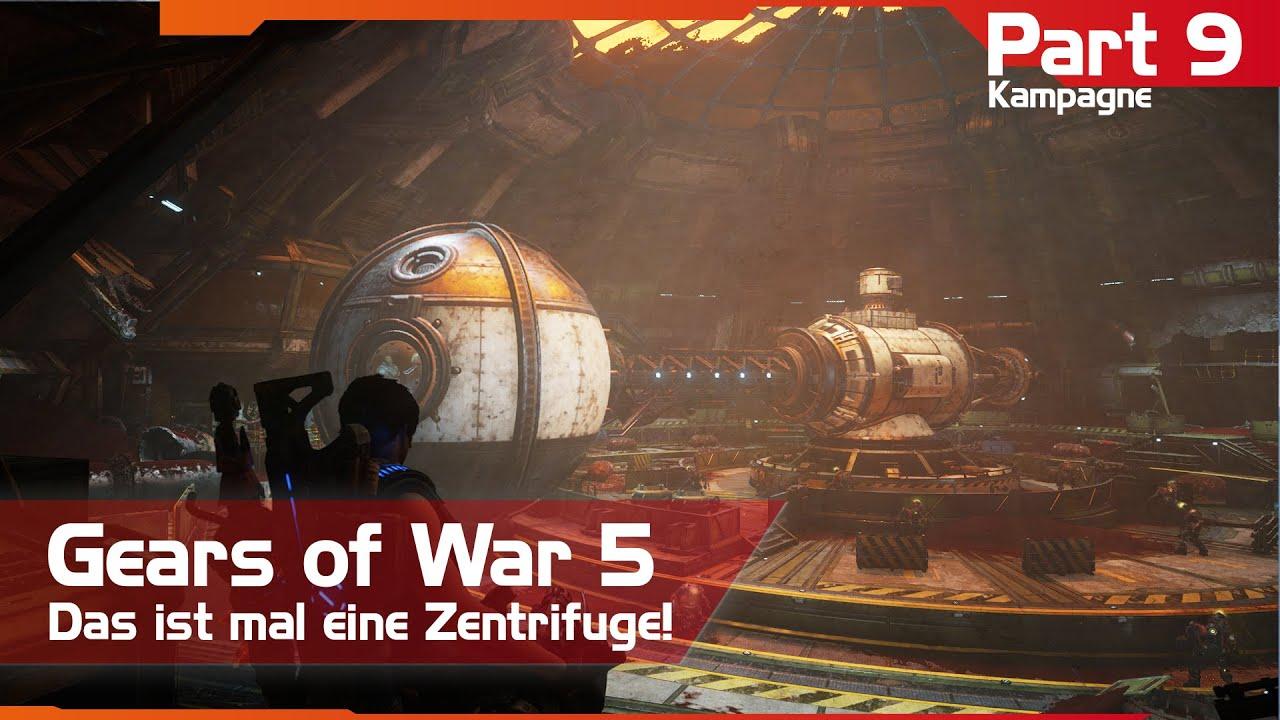 Gears of War I Gears 5 - Das ist mal eine Zentrifuge - Kampagne Teil 9 - YouTube