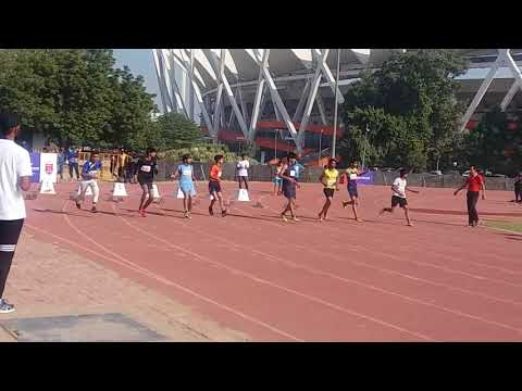 Atheletic race 100 metres boys reliance foundation 2017 in jln stadium