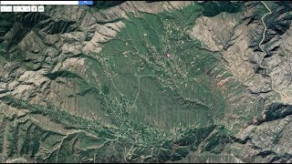 Золотая деревня. Недалеко от Таш Кумыр. Киргизия.