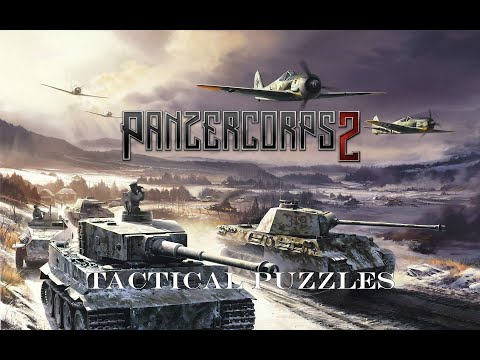 Panzer Corps 2 | Tactical Puzzle | No. 9 Double Strike v2.0 |