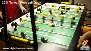 Masao Suzuki vs Mike Sames - 2011 Taiwan Foosball Open