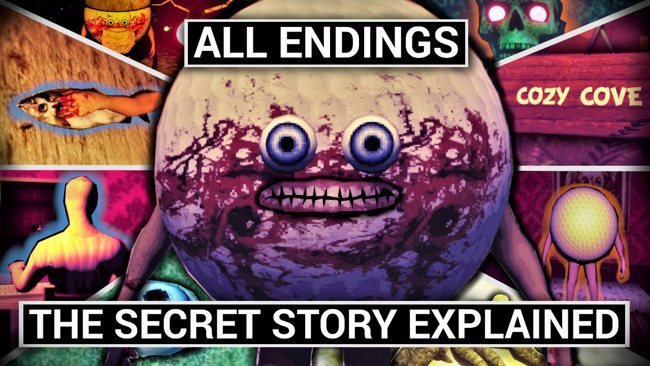 Download Gone Golfing All Endings & the Secret Story Explained (Horror Game Theories)