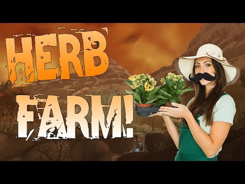 Battle For Azeroth: Amazing Herb Farming Spot & More! 8.0