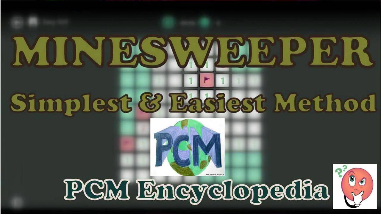 How to Play Minesweeper easiest way | HINDI | PCMpedia