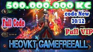 #GameFreeAll 53 : Game  MU Thú (Android & IOS) | Free Vip +Free 500.000.000 KC + Full Code[HeoVKT]
