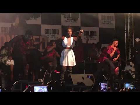 EBONY'S ALBUM LAUNCH PERFORMANCE AT WESTHILLS MALL PART ONE