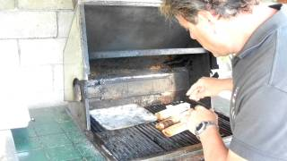 Salmon Sizzles On Barbeque Joes Hi Quality Alder Grilling Papers With Barbeque Joe Part 2 Of 3