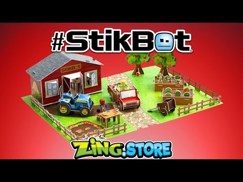 Stikbot Movie Sets NOW AVAILABLE on The Zing Store!