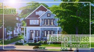 The Sims 4: Строительство   Дом для небольшой семьи   Jessica House