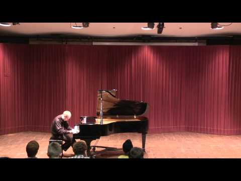 Playing piano for the Applied Music Program at El Camino College: