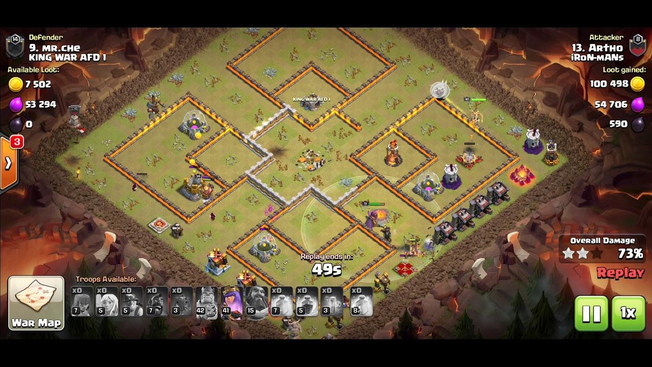 TH 11 ATTACK | Hog & Minar | WAR ATTACK | COC - YouTube