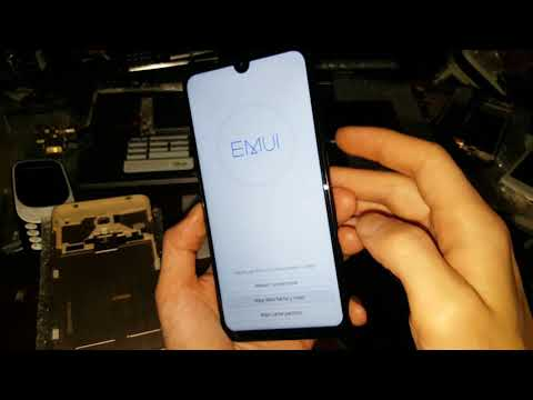 Huawei Honor 10 Lite Hard Reset сброс настроек графический ключ пароль How To Reset