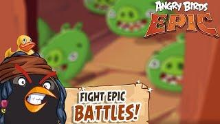 Angry Birds Epic RPG - Rovio Entertainment Ltd CAVE 11 MOCKING CANYON 2 Walkthrough