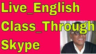 Live_English Class_Through_Skype With An Indian Teacher Online!
