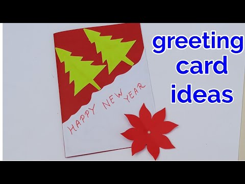 How to make Happy New year greeting cards,greeting card ...
