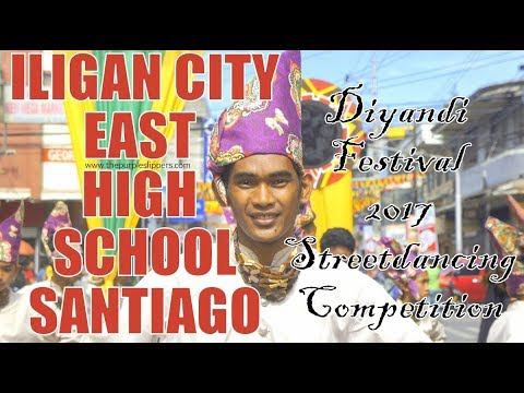 10 Iligan City East High School Santiago | Diyandi Festival 2017 Streetdancing Competition