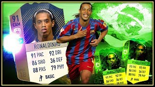 91 Icon Ronaldinho - Pure Zerpflückung In Der Weekend League // Fifa 18 Ulitmate
