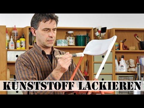 Gut bekannt Kunststoff lackieren - YouTube DP33